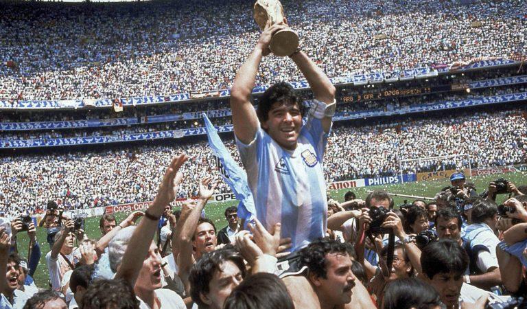 México 86. Cuando Maradona se convirtió en Dios.